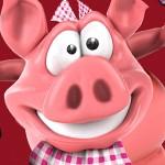 modelage cochon en plasticine