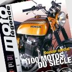 MAQUETTE PRESSE mise en page moto légende portfolio