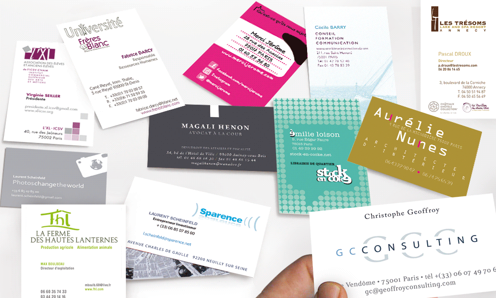 IDENTITÉ VISUELLE patchwork logos et cartes de visite